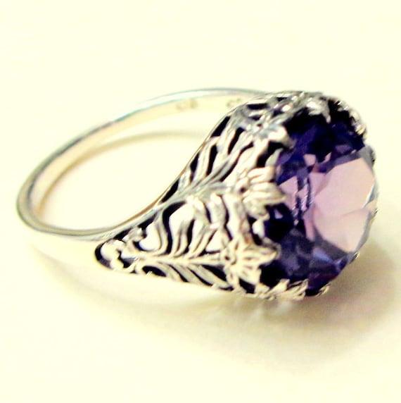 Vintage Alexandrite Rings Alexandrite Ring Russi...