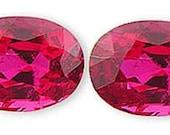 Stunning Pinkish Red Burmese Clean GEM Spinel Gemstones Matched Pair 2.01 carats