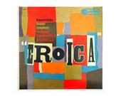 """Ivan Chermayeff record album design, c.1959. """"Eroica"""" LP"""