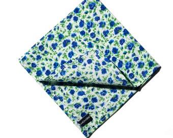 Pomp & Ceremony Pocket Square handkerchief Liberty of London Ricardos Bloom