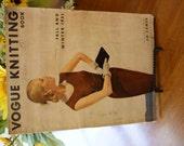 Vintage Vogue Knitting Book - 1951