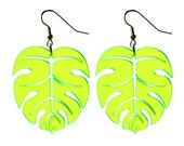 Palm Leaf Earrings / Tropics Collection