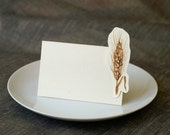 Wheat  - Wedding Place Card - Gift Card - Table Number Card - Menu Card -weddings events