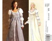 Sz 6/8/10/12 - McCall's Costume Pattern M5444 - Misses' Renaissance Costume