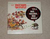 "Vintage Vinyl LP Record Album "" It's A Mads, Mad, Mad, Mad, World "" Movie Soundtrack"