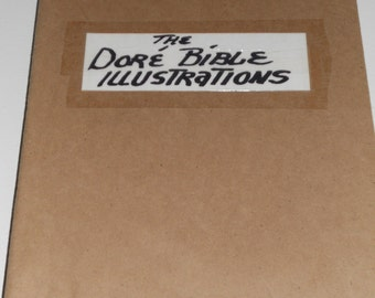 Vintage The Dore Bible Illustrations-241 Plates By Gustave Dore-NICE!!!
