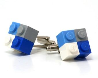 4-pack cufflinks ATHENS made with LEGO® bricks
