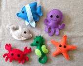 Ocean Animal Stuffed Toys