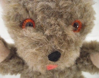 Vintage Mary Meyer Stuffed Plush Teddy Bear in Light Brown