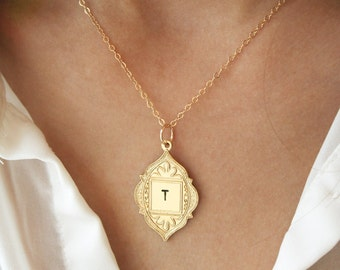 Personalized Necklace, Initial Jewelry, Bridesmaid Jewelry