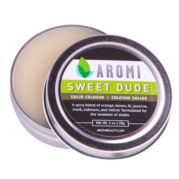 Aromi Sweet Dude Solid Cologne.  Men's Gift. Men's Fragrance. Men's Cologne.  Solid Fragrance.