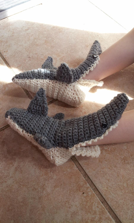 Baby shark slippers crochet shark slippers kids shark zoom bankloansurffo Gallery