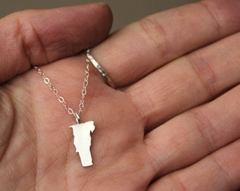Petite Any State Love Necklace