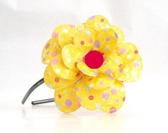 Sunspot Daisy Paper Mache Headband
