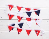 Red Navy White Mini Good WIll Bunting Ralph
