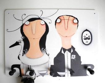 Key board Schlüsselbrett Frau Cujé-Bartsch Wedding