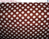 Brown Ta Dots Fabric by Michael Miller - 1/2 Yard