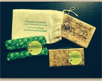 Citrus Spice - Natural Handmade Soap - Orange - Cinnamon - Cypress - Mint - Scented Soap - Natural Soap - Bath and Body Soap