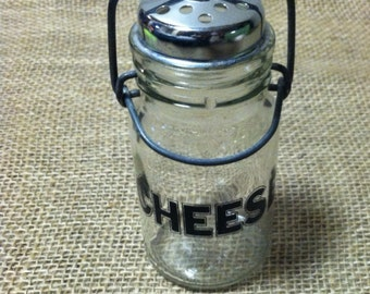 Parmesan Cheese Glass Shaker 8 oz  *PRICE REDUCED!*