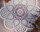 Crocheted Doily - Sweet time free shipping