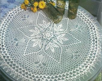 Crocheted Doily - Invitation