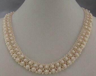 Ivory Glass Necklace