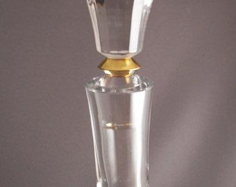 Pretty Vintage Glass Decanter Simple Elegant House Wear