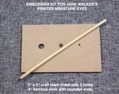 Embossing set for Jane Walker Miniature Eyes