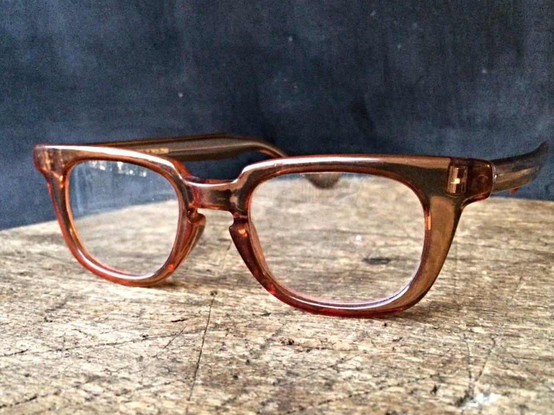 Mens Hipster Eyeglass Frames : Mens Hipster Geek Style Eyeglasses Vintage Barry Martin