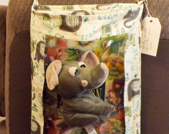 Elephant splash print Car organizer car seat organizer toy organizer