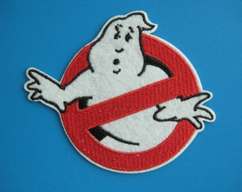Sale~ Iron-on embroidered Patch Ghostbusters 3.5 inch