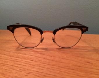 Vintage 1940's / 50's Cat Eye Eye Glasses