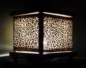 Leopard Print Night Light Lamp Animal Print Light