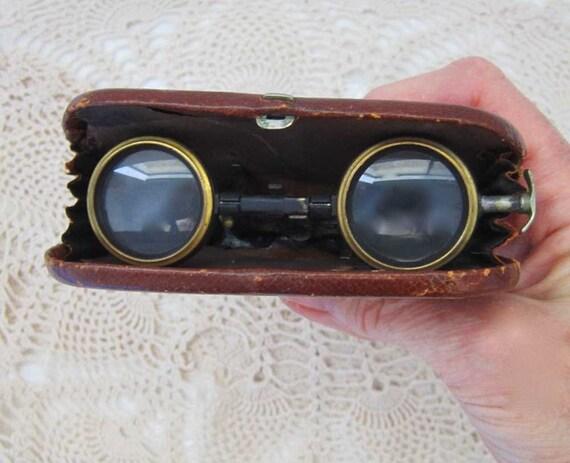 Antique French Folding Opera Glasses