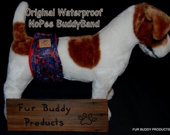 """New Print.....Original """"NO-Pee"""" Waterproof  BuddyBand Diaper with Pul and Zorb..All Sizes"""