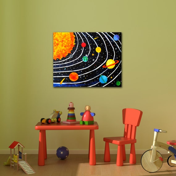 Comhanging Solar System For Kids Room : Solar System For Kids Room Kids Room Decor Solar System