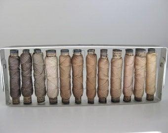 Rare French Silk Thread in Rack