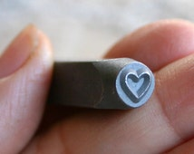 Heart Design Metal Steel Stamp 5mm Jewelry Tool Punch Stamping Valentine Day