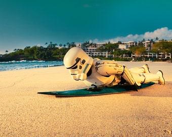 Surf Art - Hawaii - Fine Art Photography - Beach Home Art Decor Print