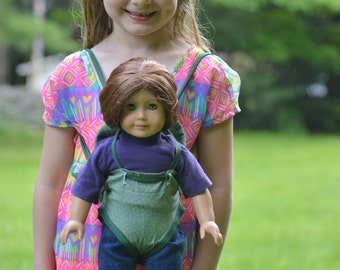 Carrier/Backpack doll carrier PDF