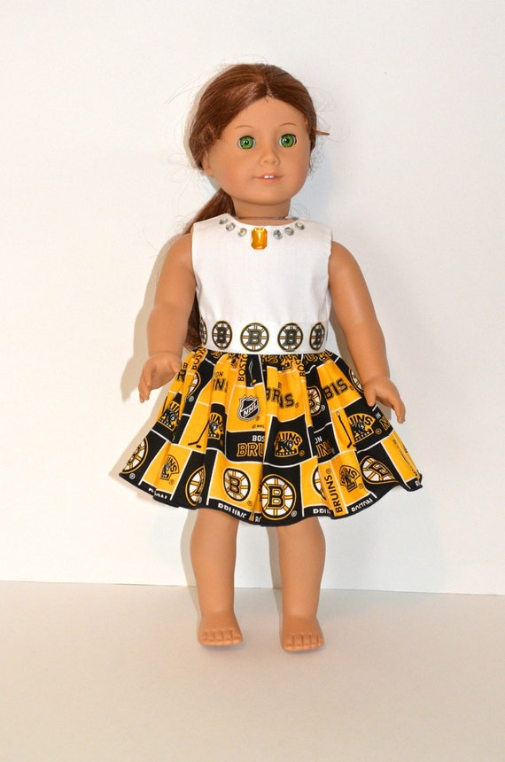 Boston Bruins Doll Dress