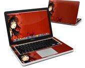 Black Flower Laptop Decal Sticker Skin