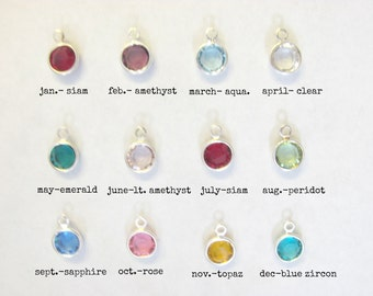Add an Extra Birthstone Charm