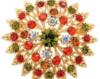 Hyacinth Flower Wedding Pin and Pendant 1010932