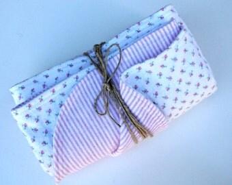 Baby Blanket - Flannel Baby Blanket - Baby Shower Gift - Pink Receiving Blanket - Pink Baby Blanket