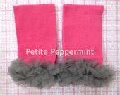 Leg Warmers,Baby Leg Warmers, Baby Leggings - Hot Pink Leg Warmers