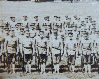 1917 WWI 1st World War POSTCARD Jefferson BARRACKS Missouri