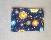 Dice Bag or Tarot Pouch - Cotton Fully Lined with Drawstring - Choose one of five designs