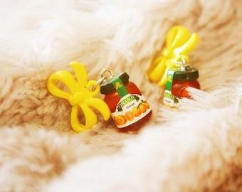 Orange Jam Earrings