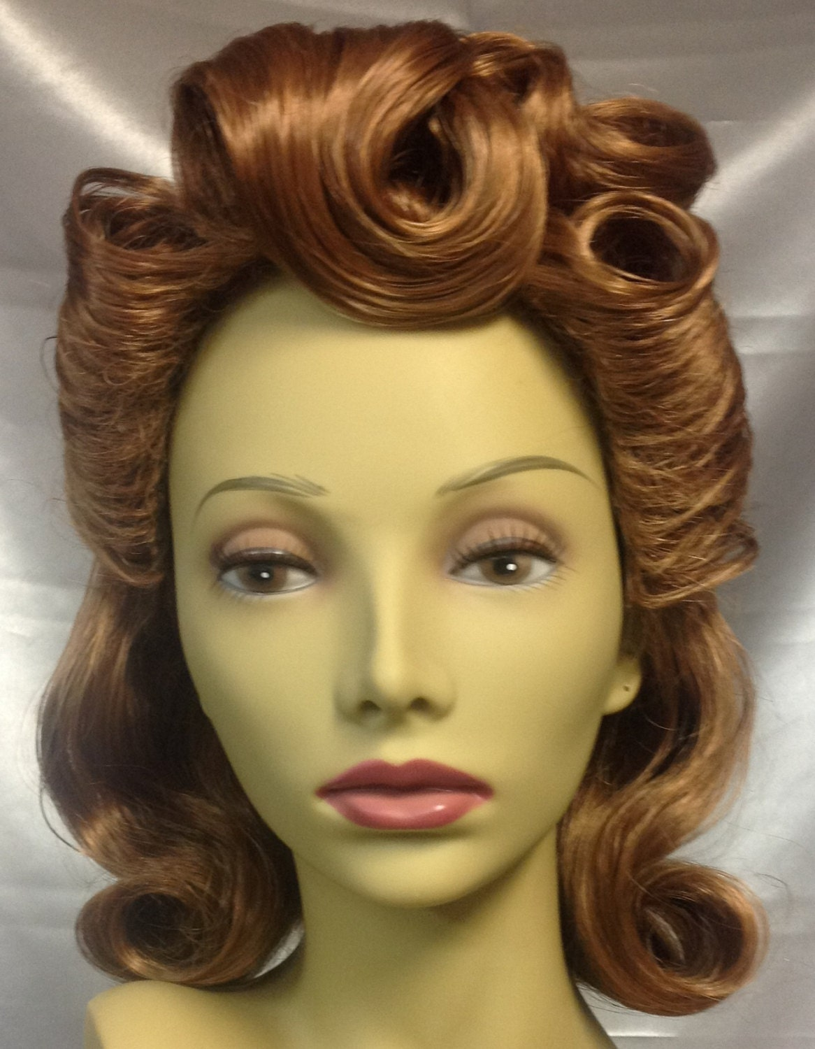 40 S Style Wig Light Red